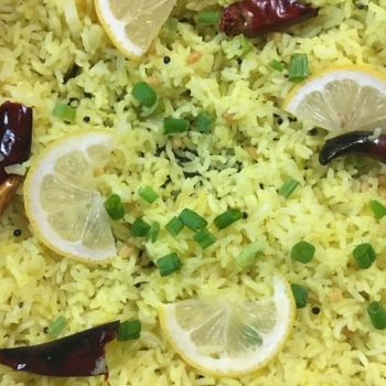 Lemon Rice Recipe | South Indian Recipe