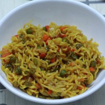 Maggi Masala Noodles Recipe | Vegetable Maggi