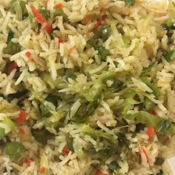 Vegetable Fried Rice Recipe | South Indian Recipe