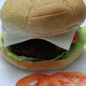 Aloo Tikki Burger Recipe   How to Make Aloo Tikki