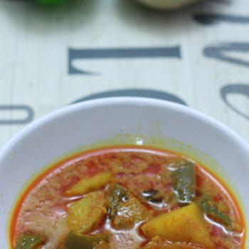 Potato Capsicum Masala Recipe | South Indian Recipe