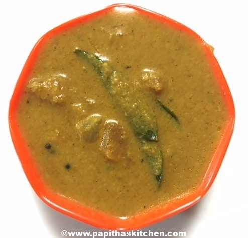 Plain kurma recipe
