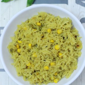 Corn Pulao Recipe | How to prepare Sweet Corn Pulao Recipe
