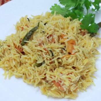 Tomato Rice Recipe | How to prepare Easy Tomato Rice Recipe