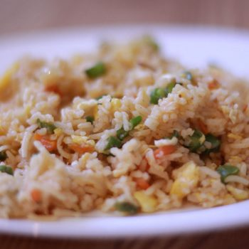Egg Fried Rice Recipe Indian Style