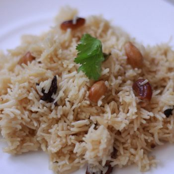 South Indian Ghee Rice Recipe