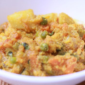 Mixed Vegetable Curry Recipe Indian Style