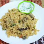 Indian Style Mushroom Pulao Recipe Indian Style