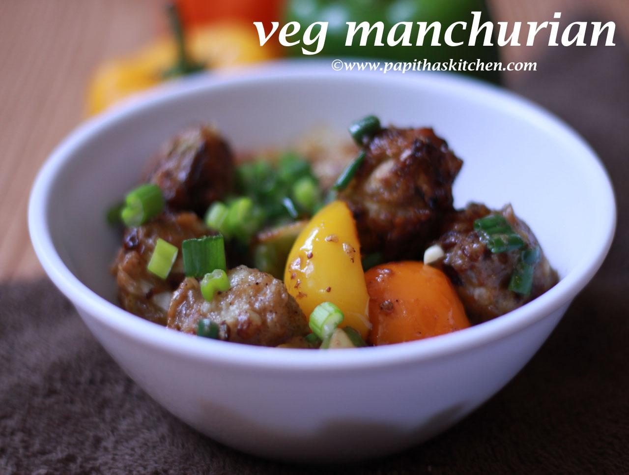 veg manchurian