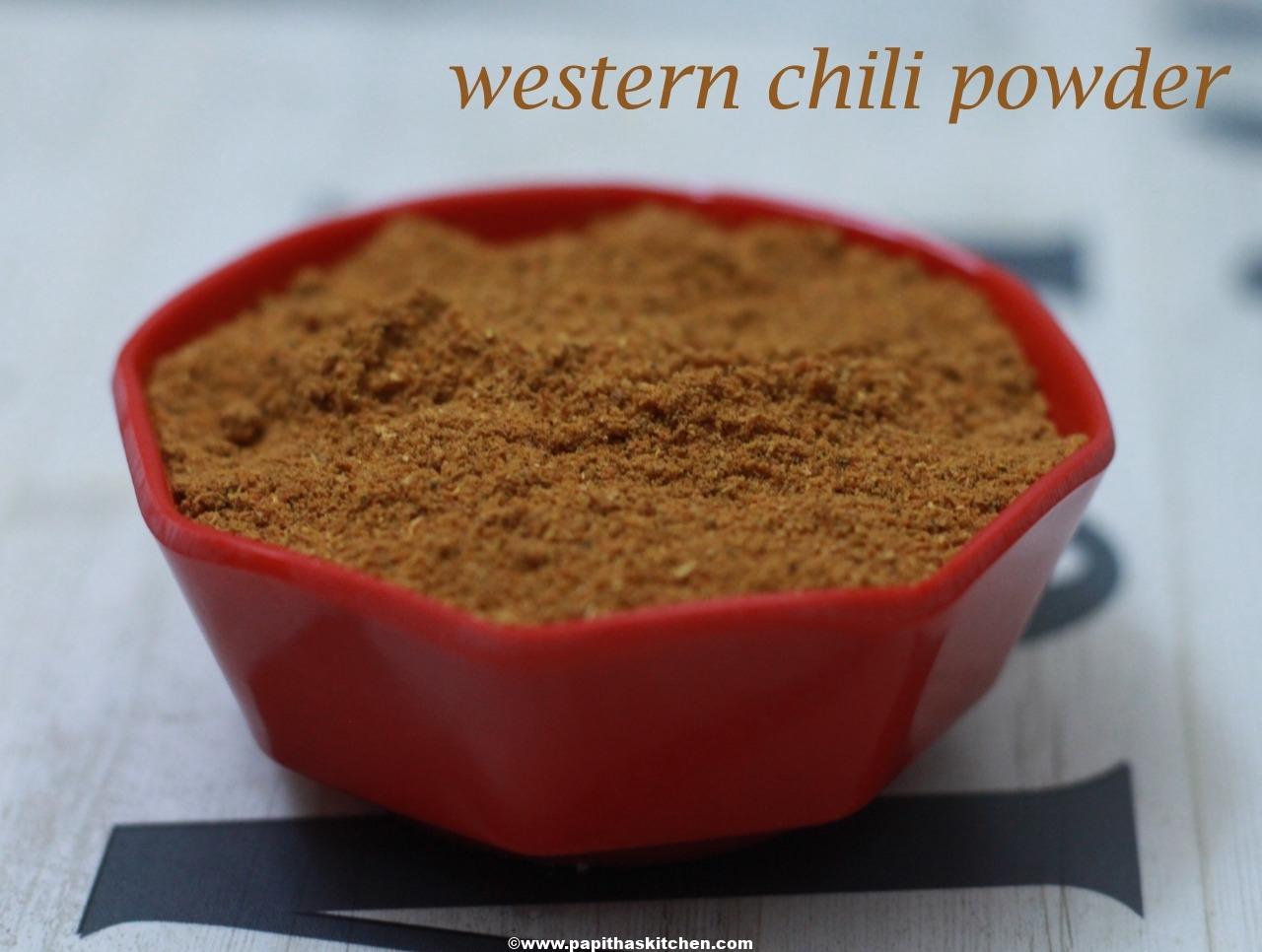 western chili powder 1