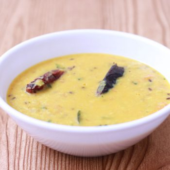 Yellow Moong Dal Recipe   South Indian Style