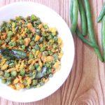 Easy Beans Paruppu Usili Recipe | Iyengar Style