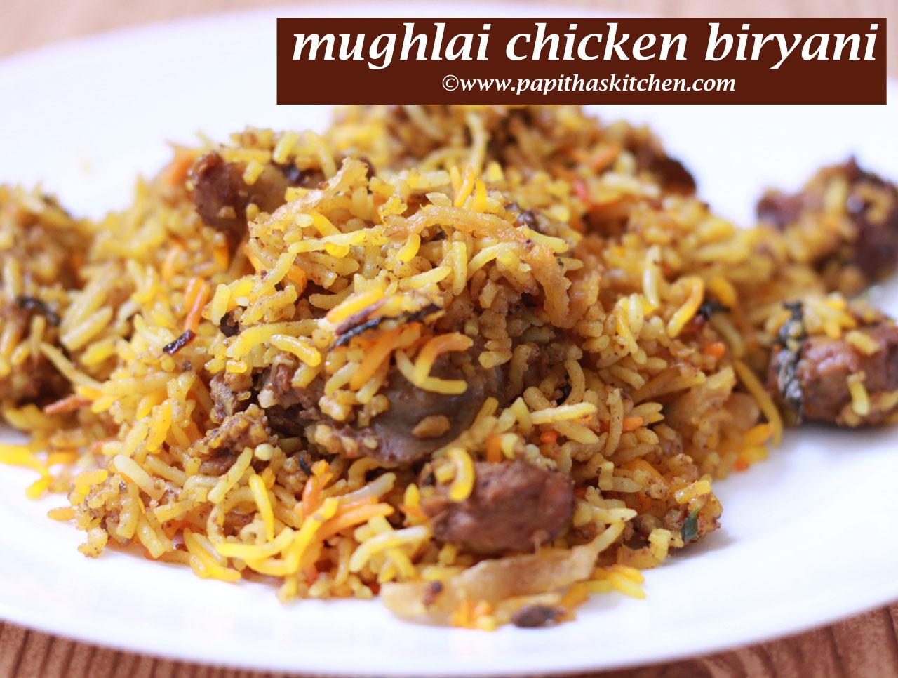 mughlai chicken dum biryani