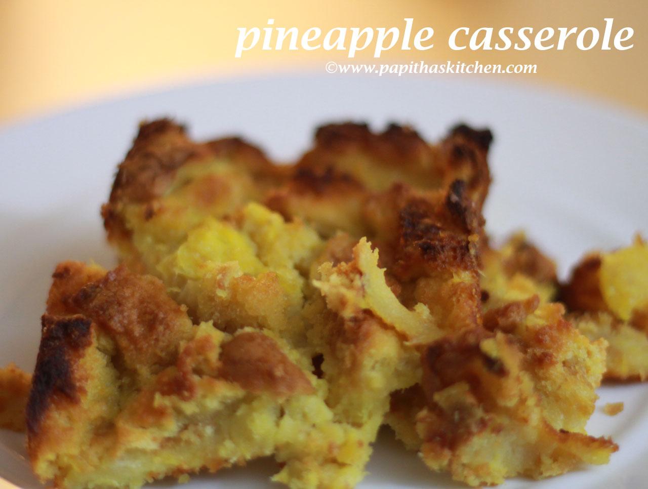 pineapple casserole