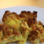 Baked Pineapple Casserole Recipe with Bread