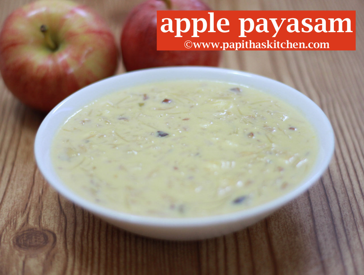 Apple payasam