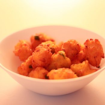 Leftover Rice Pakora Recipe