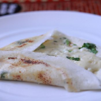 Onion Cheese Dosa Recipe