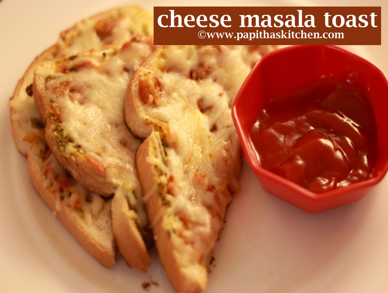 cheese masala toast