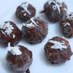 Chocolate Coconut Ladoos Recipe | Coconut Balls