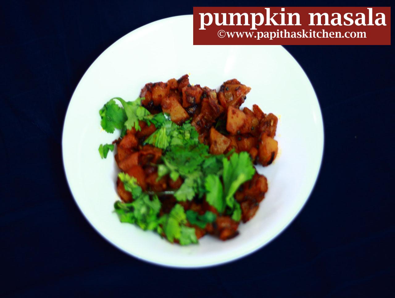 pumpkin masala