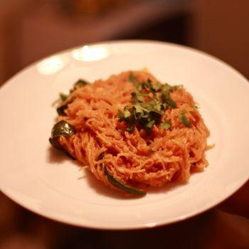 Tomato Semiya Breakfast Recipe