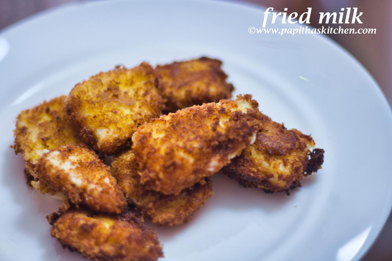 fried milk